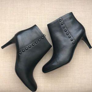 Coach Black Leather Bootie - Size 6.5